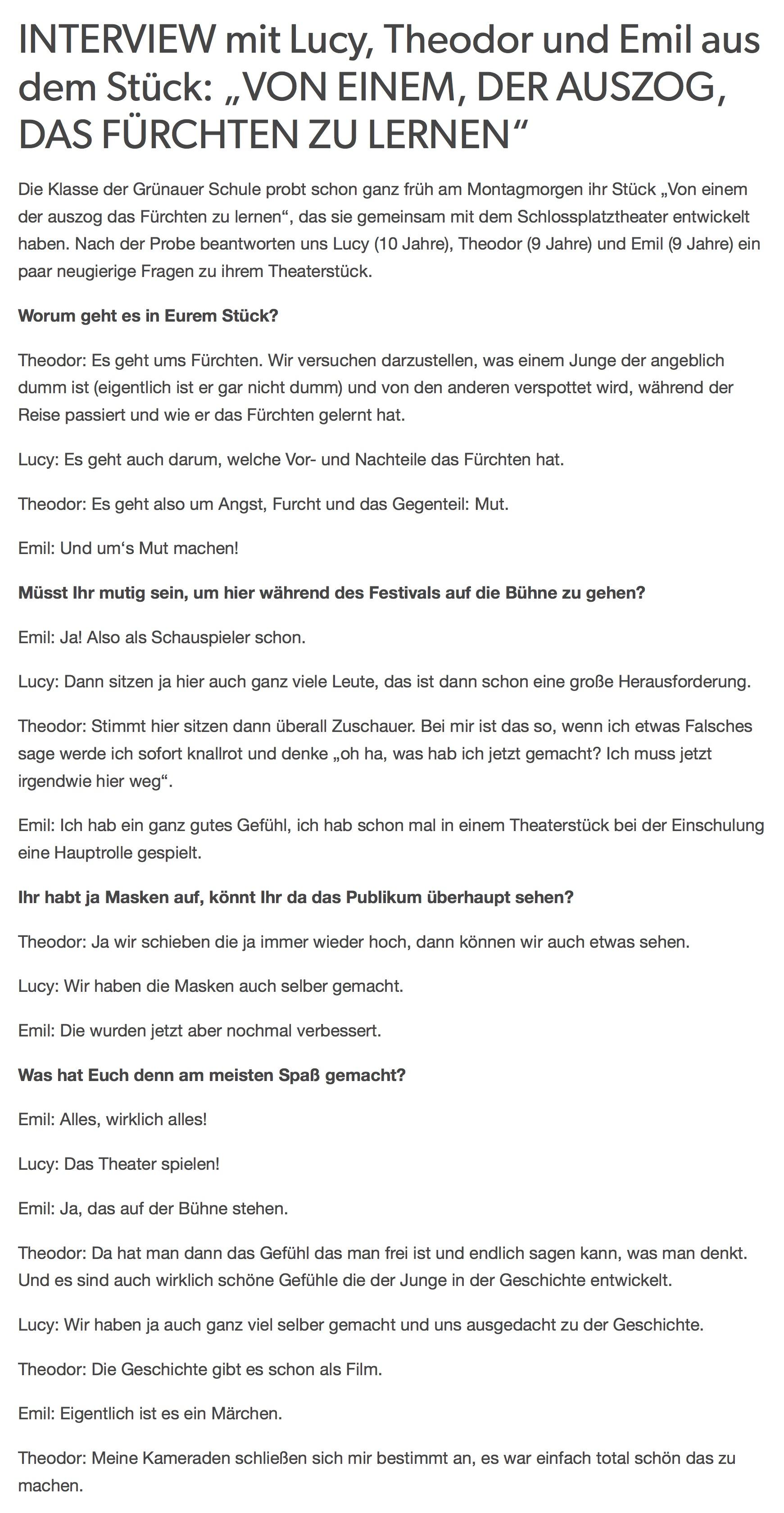 Gemütlich Probe Interview Fragen Galerie - FORTSETZUNG ARBEITSBLATT ...